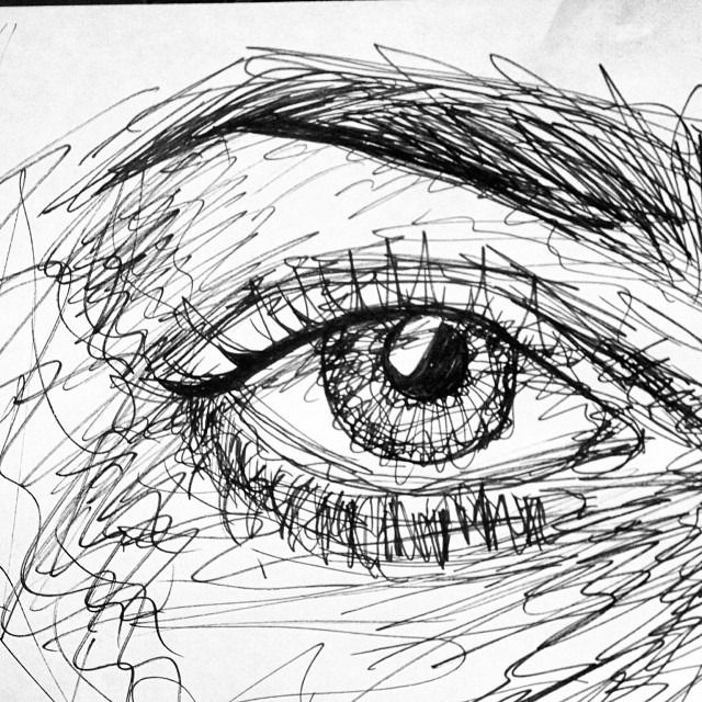 Eye Art Drawing