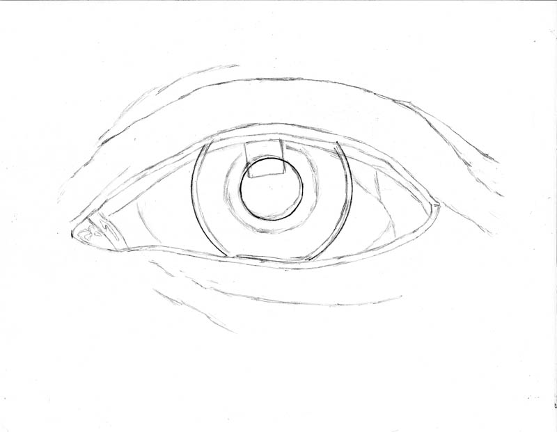 800x621 How To Draw An Eye Realistically (Part 1 Of 4) Let's Draw People