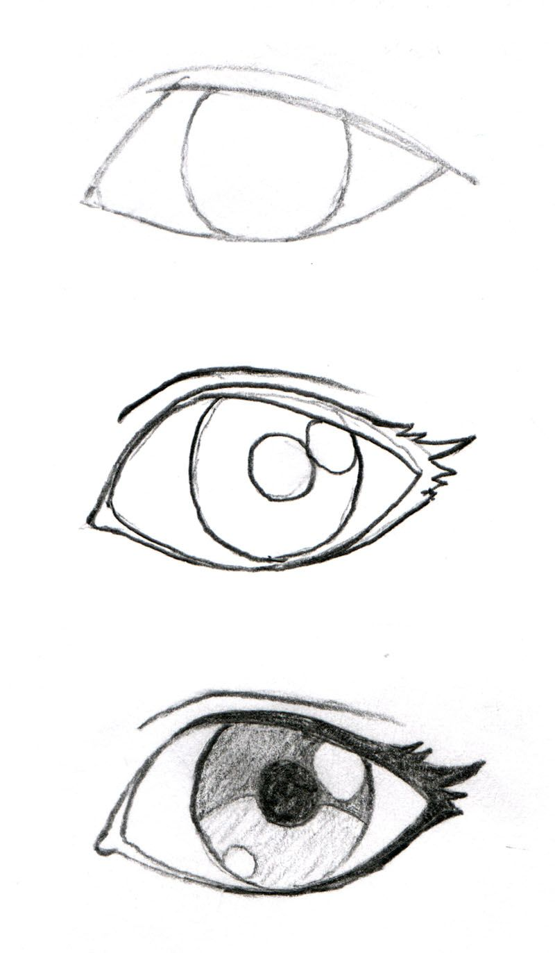 800x1373 Johnnybro's How To Draw Manga Drawing Manga Eyes (Part I