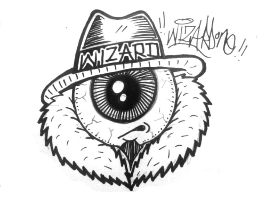 960x720e Eye Graffiti Sticker By Wizard1labels