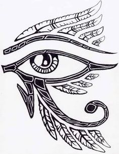 236x306 Eye Of Horus Drawing
