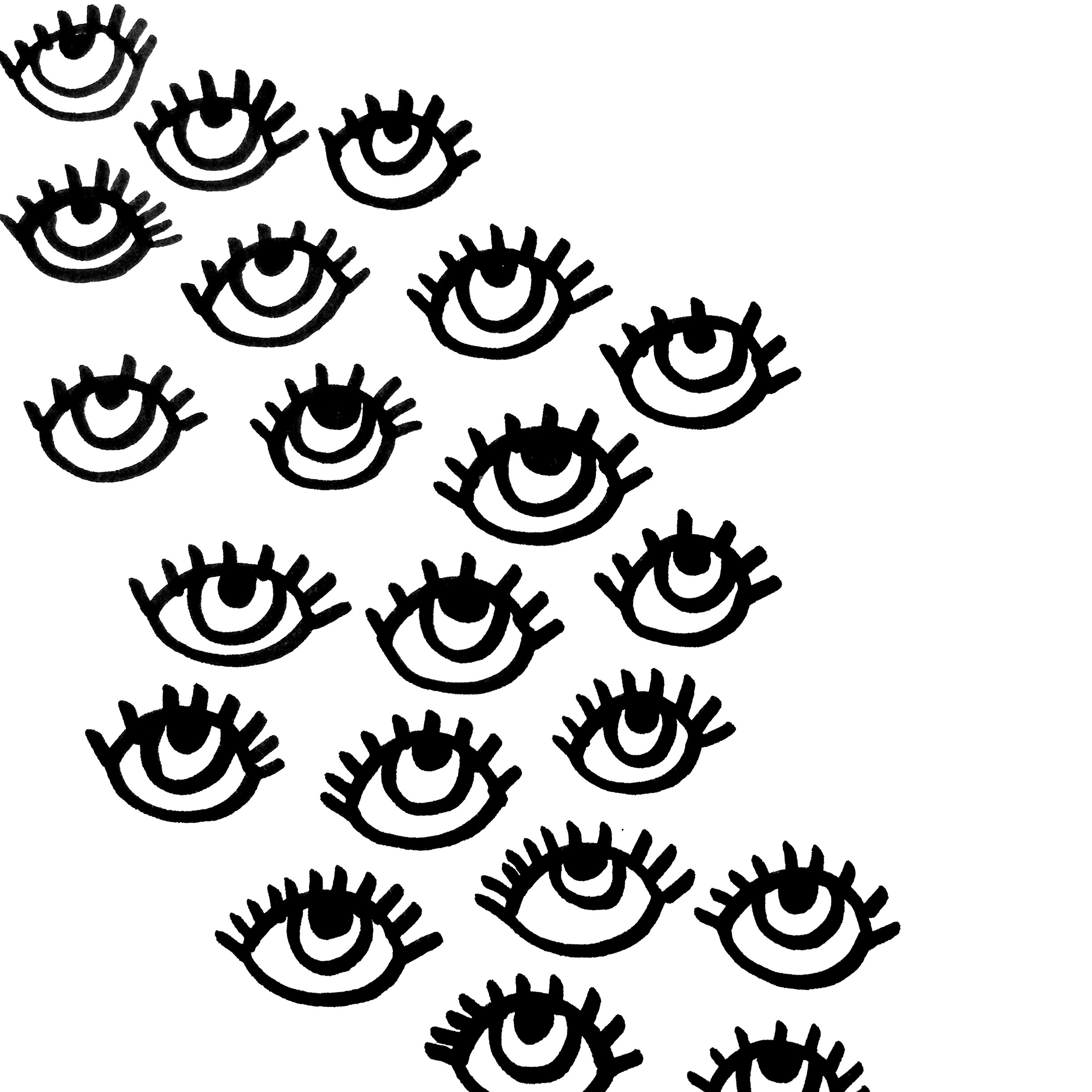 2448x2448 Eyes Illustration Use This Have Different Colors Pop Up