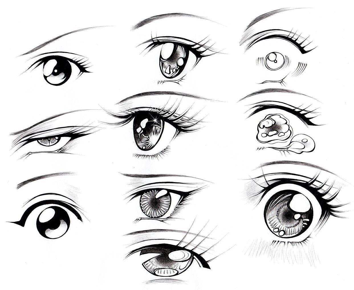 1242x1018 How To Draw Female Eyes (Part 2) Manga University Campus Store
