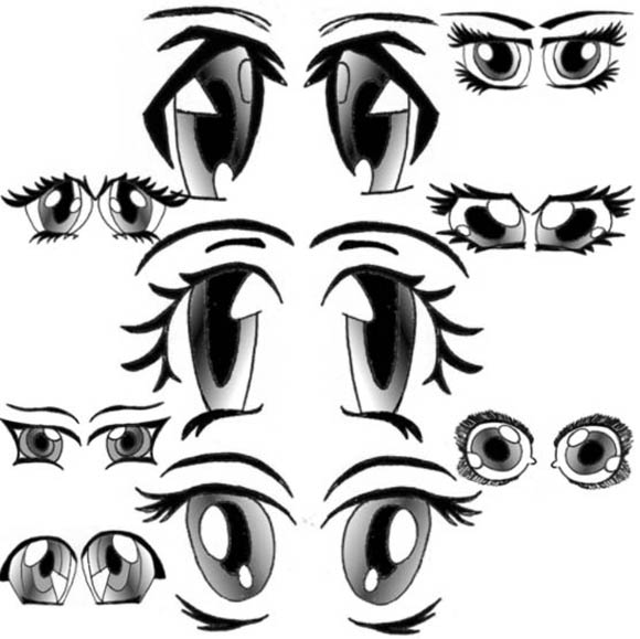 Eye Cartoon Drawing