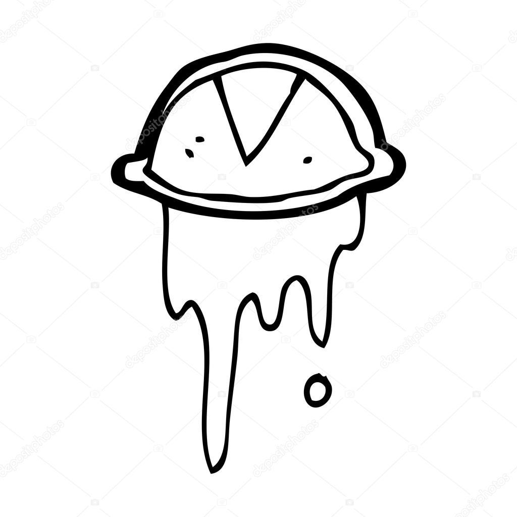 1024x1024 Cartoon Crying Eye Symbol Stock Vector Lineartestpilot