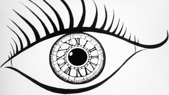 579x326 Clock Eye By Blakskull