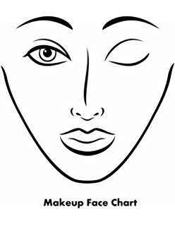 248x320 Buy Makeup Artist Face Charts (The Beauty Studio Collection) Book