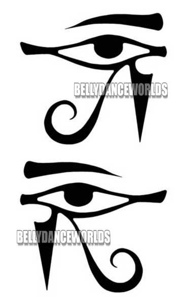 Eye of horus drawing at free for for Eye of horus temporary tattoo
