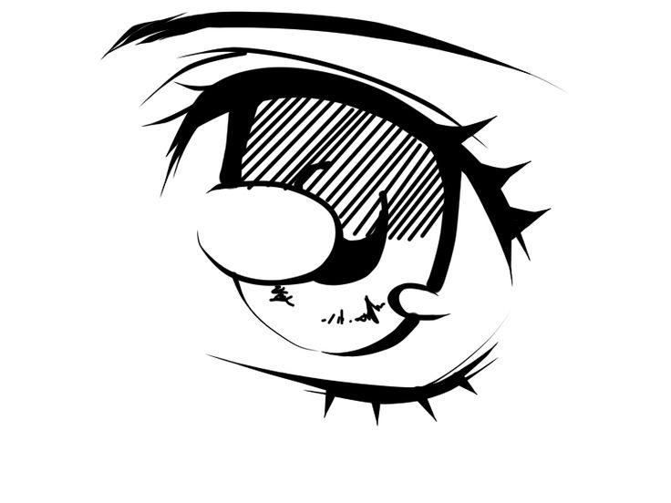 Eye Simple Drawing