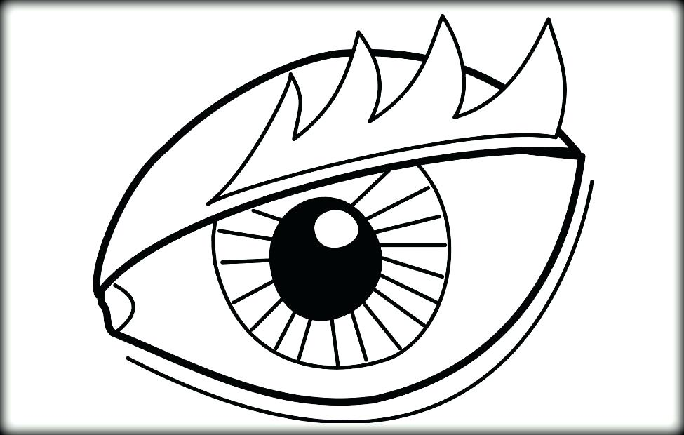 975x620 Eyeball Coloring Page Eyes Coloring Page Eye Coloring Pages Com