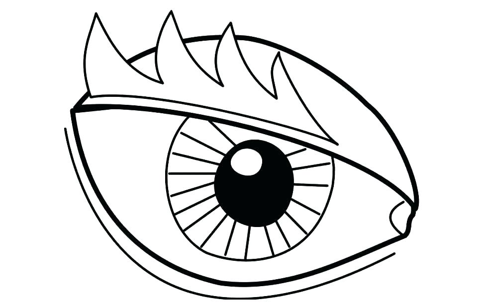 975x620 Eyes Coloring Pages Eye Coloring Pages Eye Coloring Page Excellent