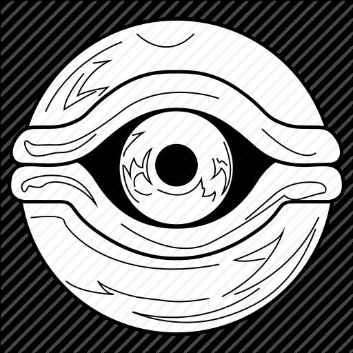 512x512 Eye, Eyeball, Millennium Eye, Millennium Items, Yugioh Icon Icon