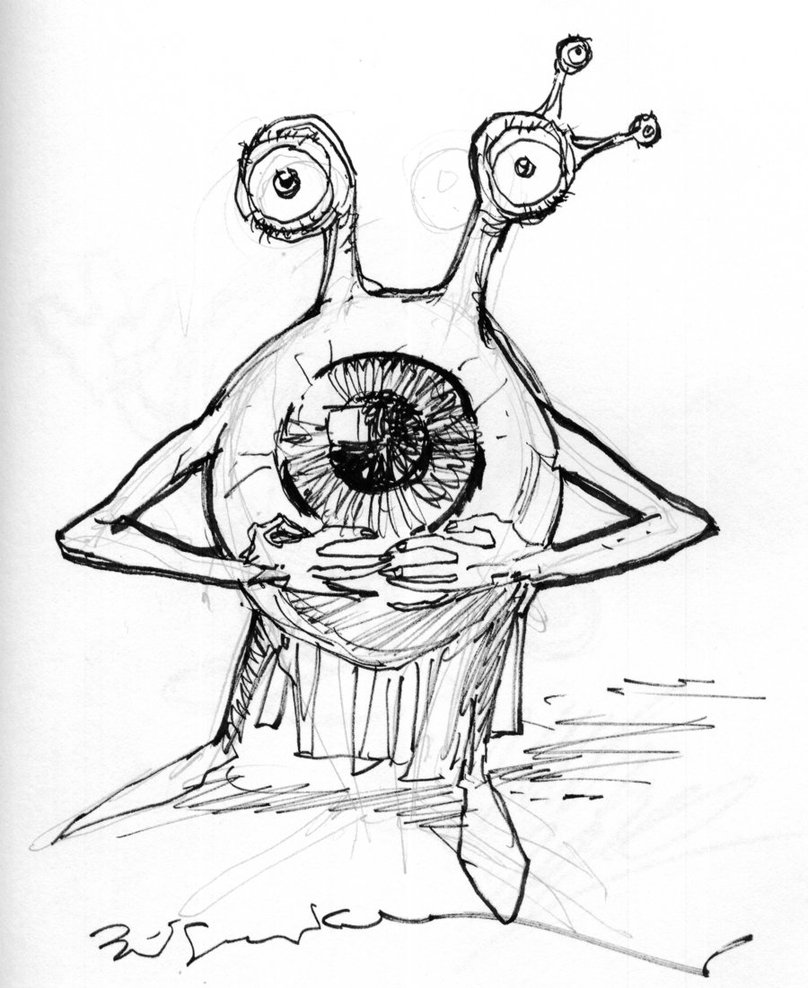 Eyeball Drawing Images