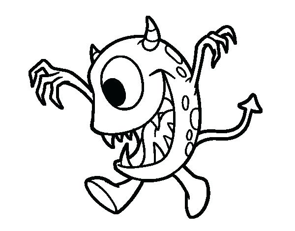 600x470 Eyeball Coloring Page Omnitutor.co