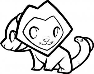 302x239 How To Draw How To Draw A Chimera For Kids