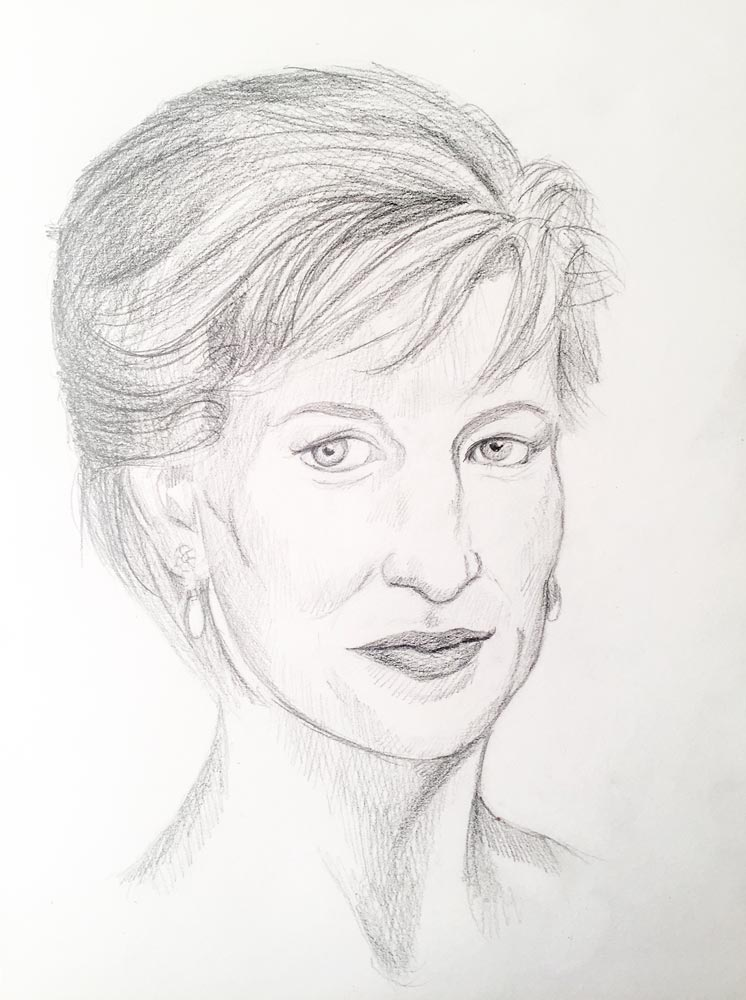 746x1000 Honoring Royalty How To Draw Princess Diana Let's Draw People