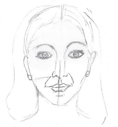 386x414 How To Draw A Person Lovetoknow