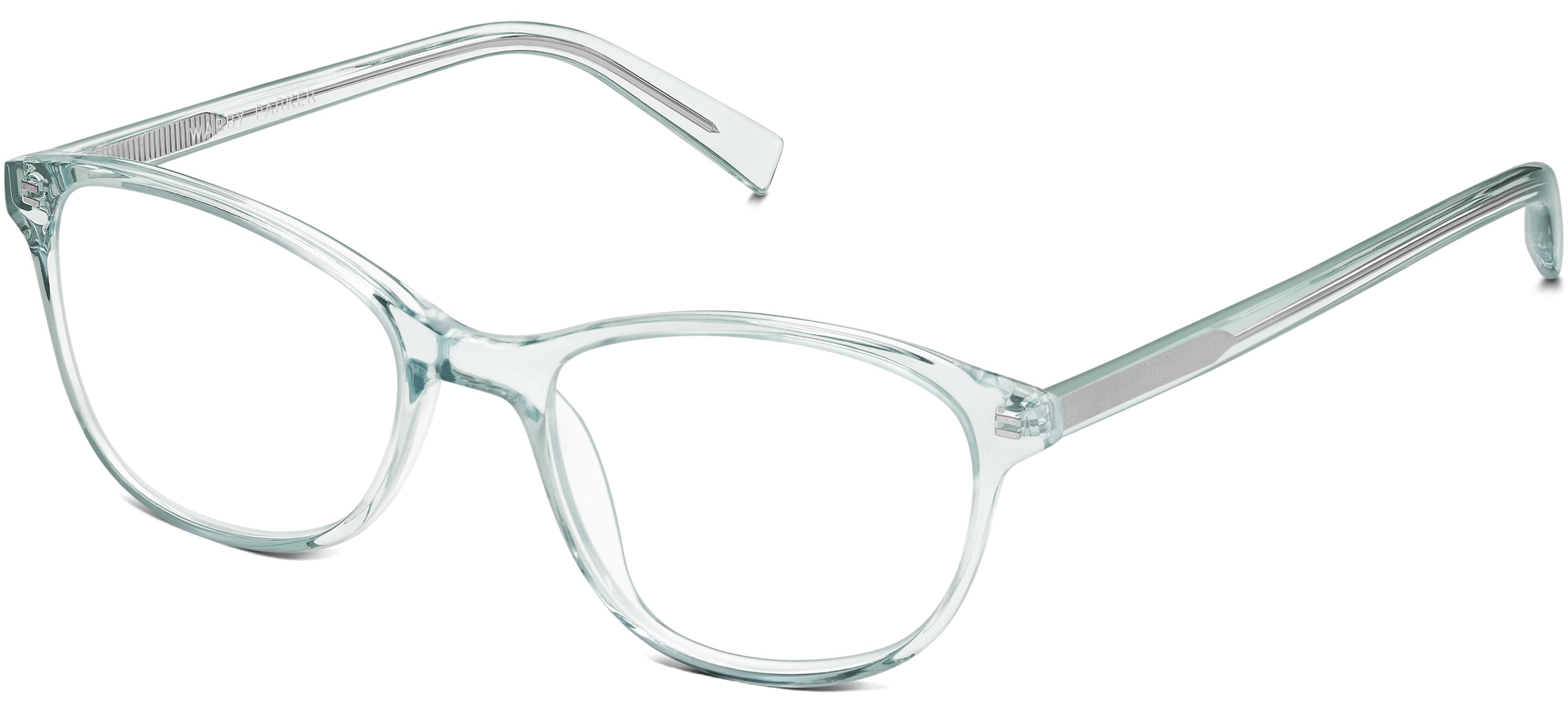 3500x1605 Daisy Eyeglasses In Cyprus Crystal For Women Warby Parker