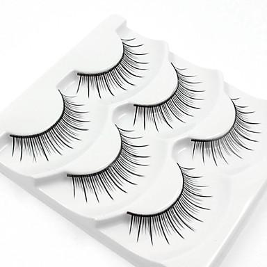 384x384 3 Eyelashes Lash Full Strip Lashes Natural Long Eyelash Full Strip