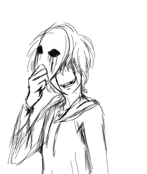 This is a picture of Adaptable Creepypasta Coloring Pages