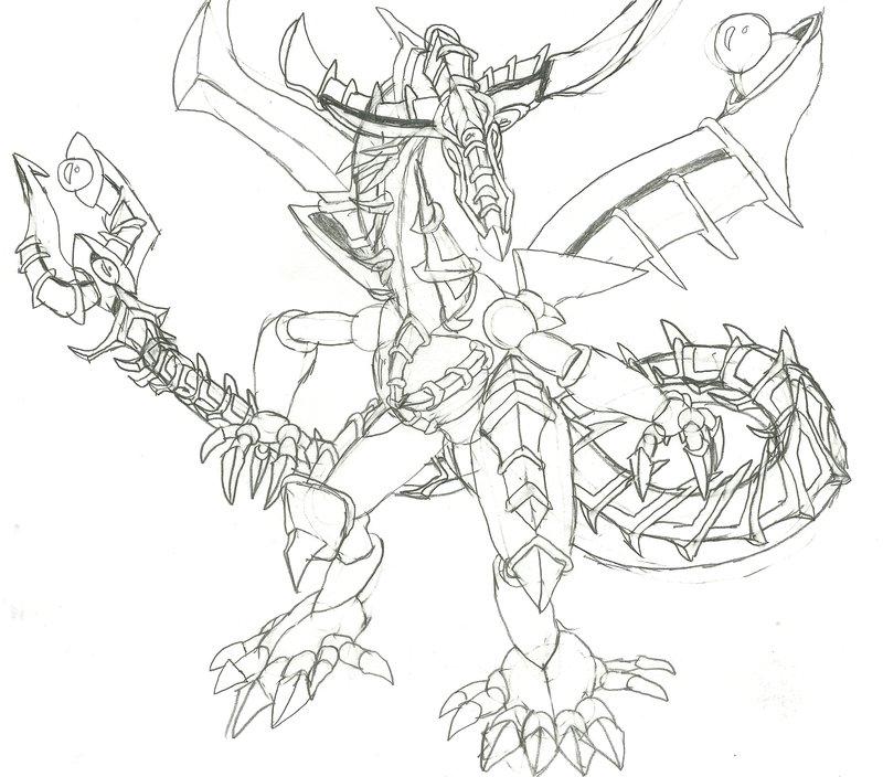 800x704 Odd Eyes Contrast Dragon By Genmanoou