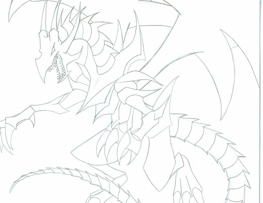 1018x785 Red Eyes Black Dragon By Kinashak