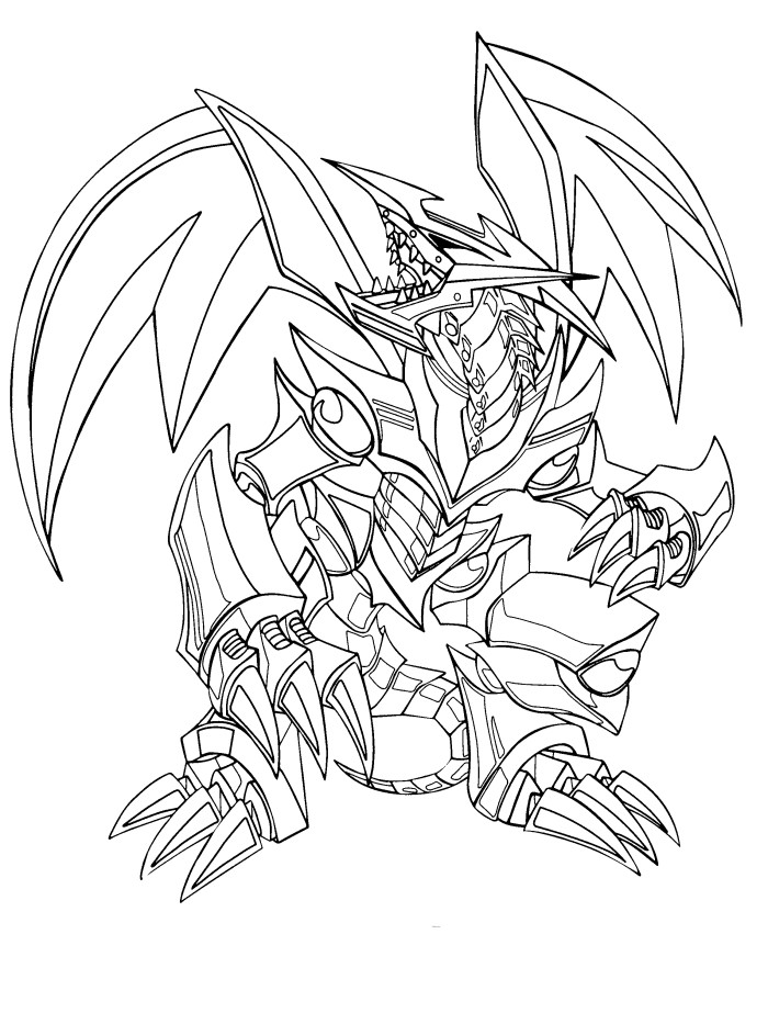 700x923 Yu Gi Oh Coloring Pages