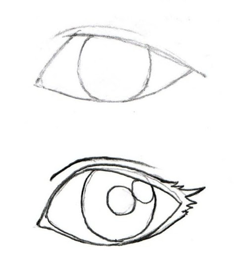 479x512 How to Draw Anime Eyes 1.0 Apk (Android 2.3