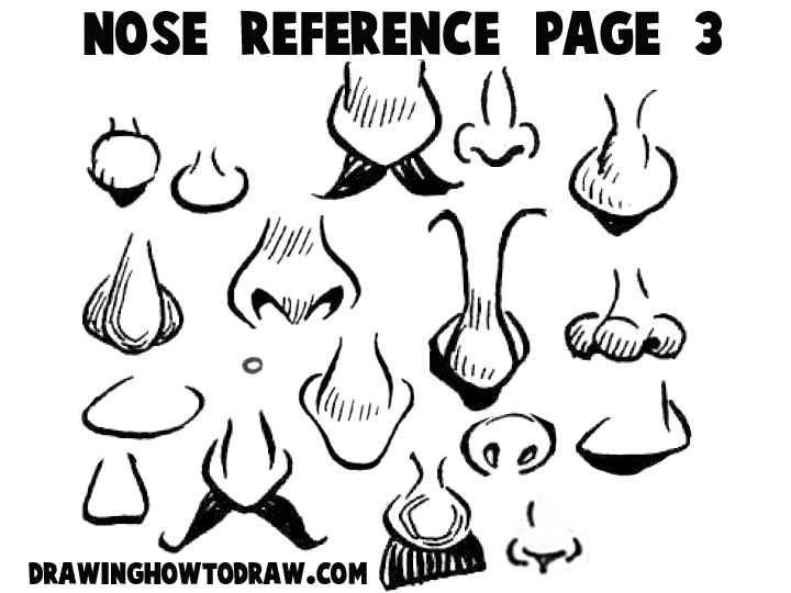 how to draw noses youtube