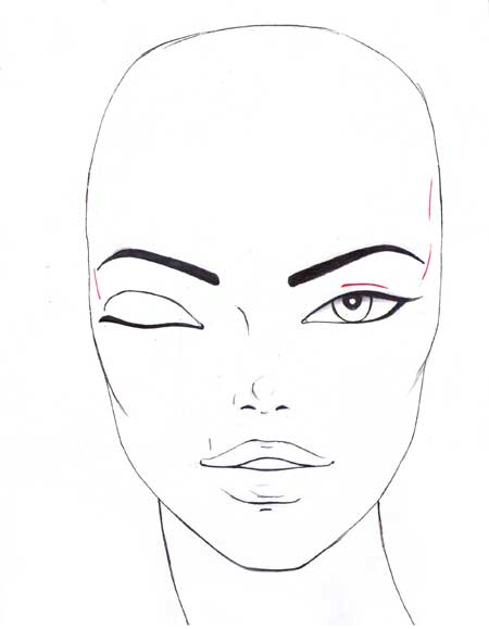 450x579 How To Draw The Eyes I Draw Fashion