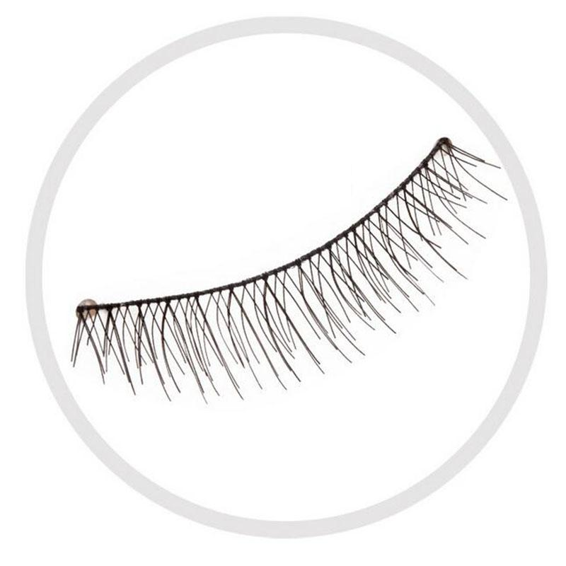 800x800 10 Pairsset Natual Long False Eyelash Fashion Black Thick