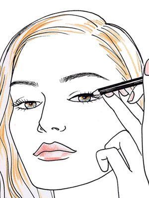 300x400 5 Tricks To Line Your Eyes Like A Pro Eyeliner, Eye And Makeup