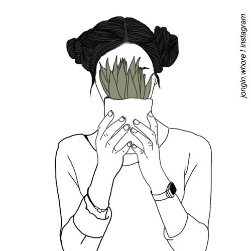 500x500 Aesthetic, Drawing, Grunge, Pale, Plants, Rad, Soft Grunge, Tumblr