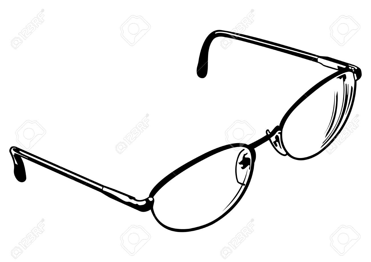 Line Drawing Glasses : Eyes with glasses drawing at getdrawings free for personal