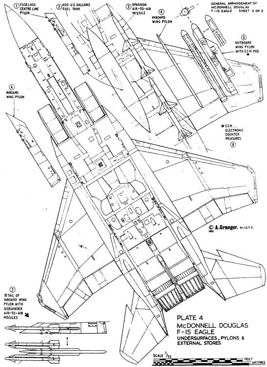 F 15 Drawing At Getdrawings Com