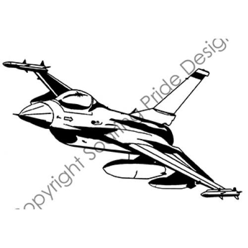 F 16 Drawing At Getdrawings Com