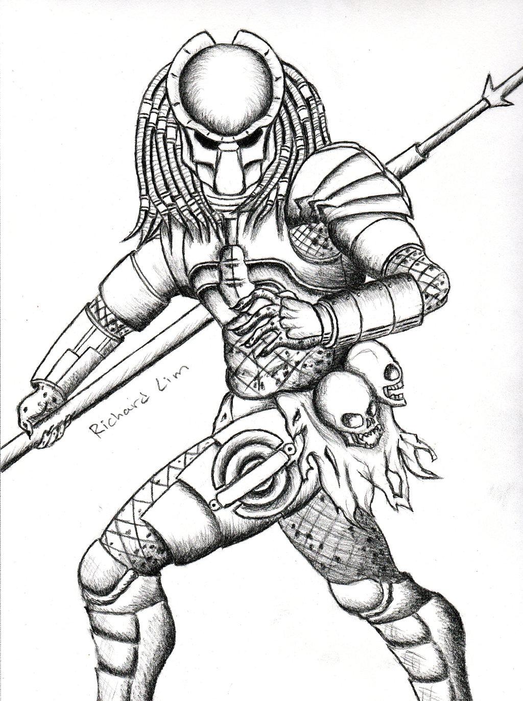 1024x1371 Predator By Richlim89