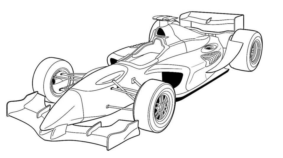 F1 Car Drawing At Getdrawings Com
