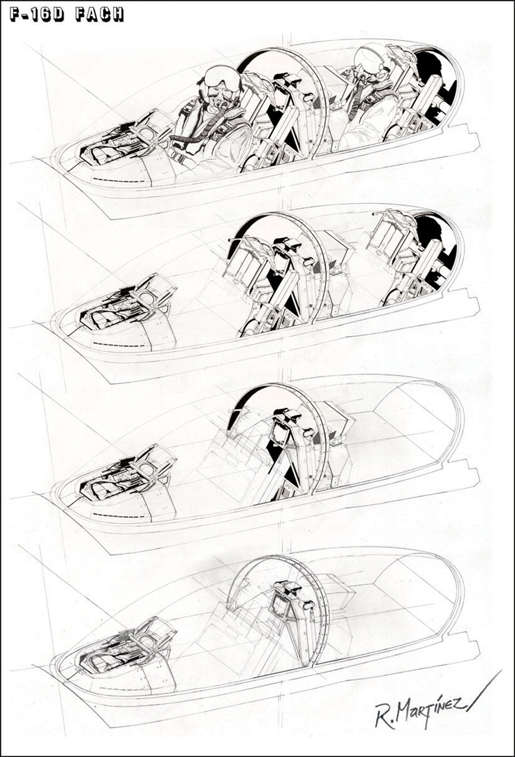 738x1084 Drawing The F 16d Cockpit By Hikaru84 On Aviation Art