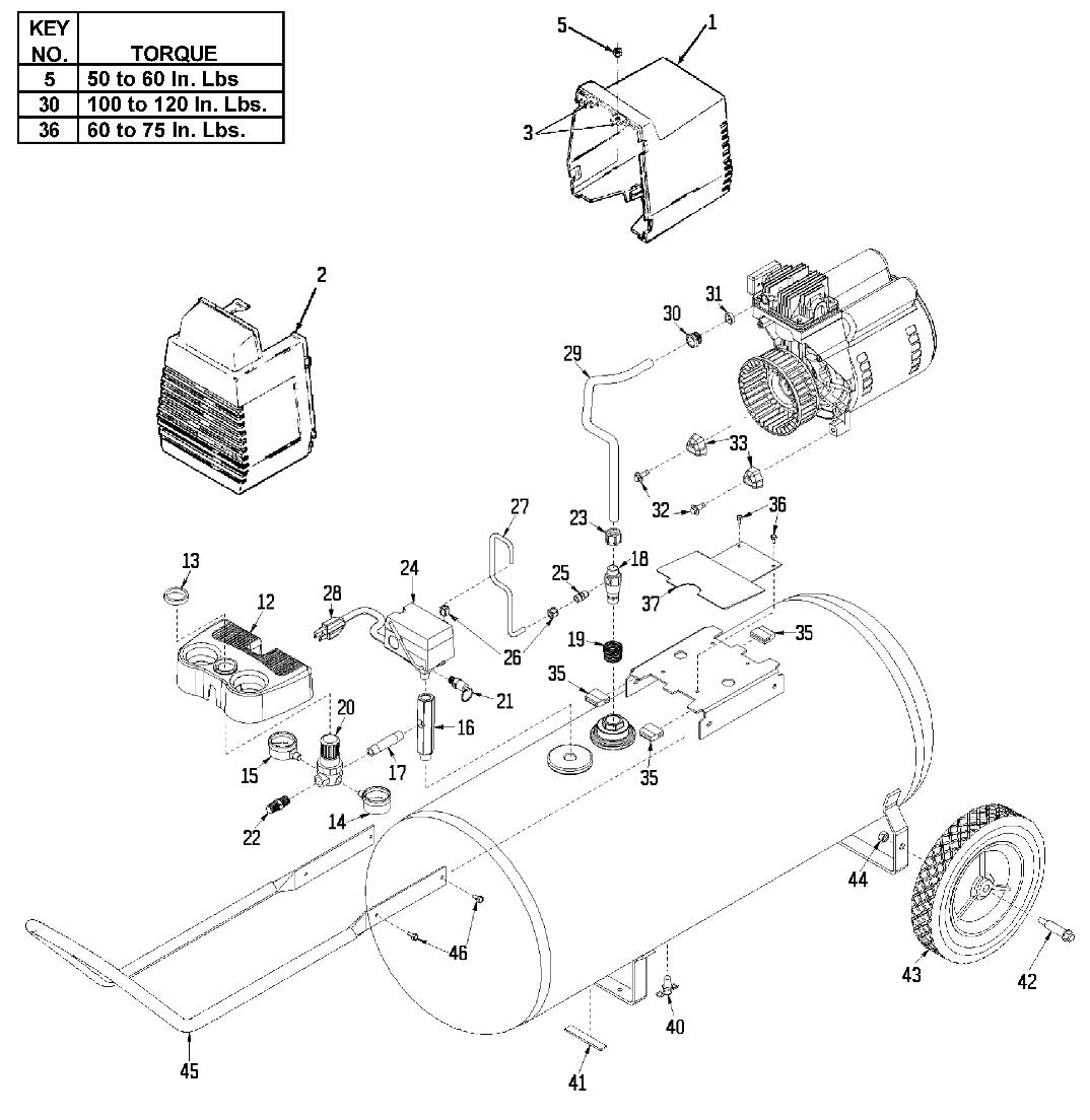 1074x1104 Devilbiss F18 Parts