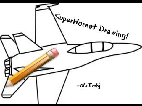 480x360 Drawing An Fa 18f Super Hornet ~mrtmbjr
