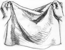 280x215 How To Draw Fabric Folds Tutorial By Barbara Bradley Story