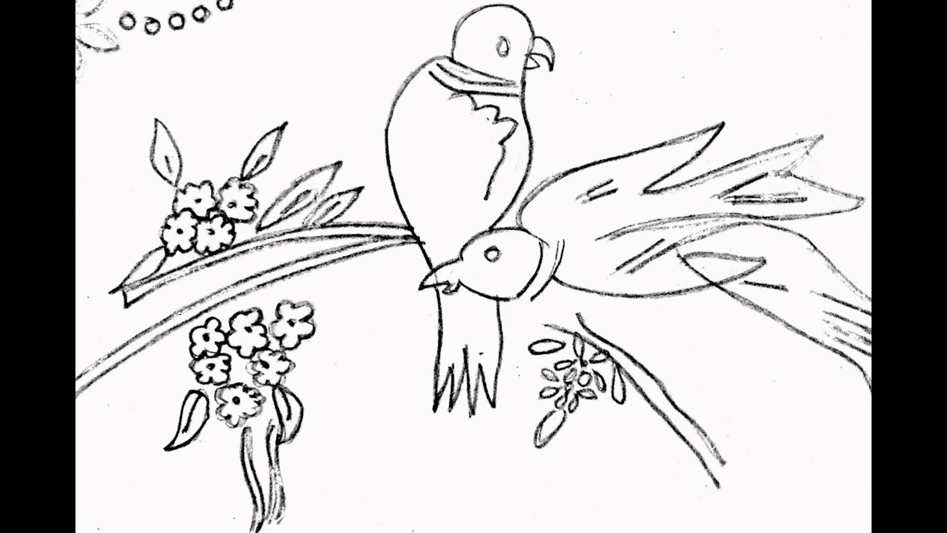 1920x1080 Birds Designs For Embroidery, Drawing Amp Painting, Fabric Printing