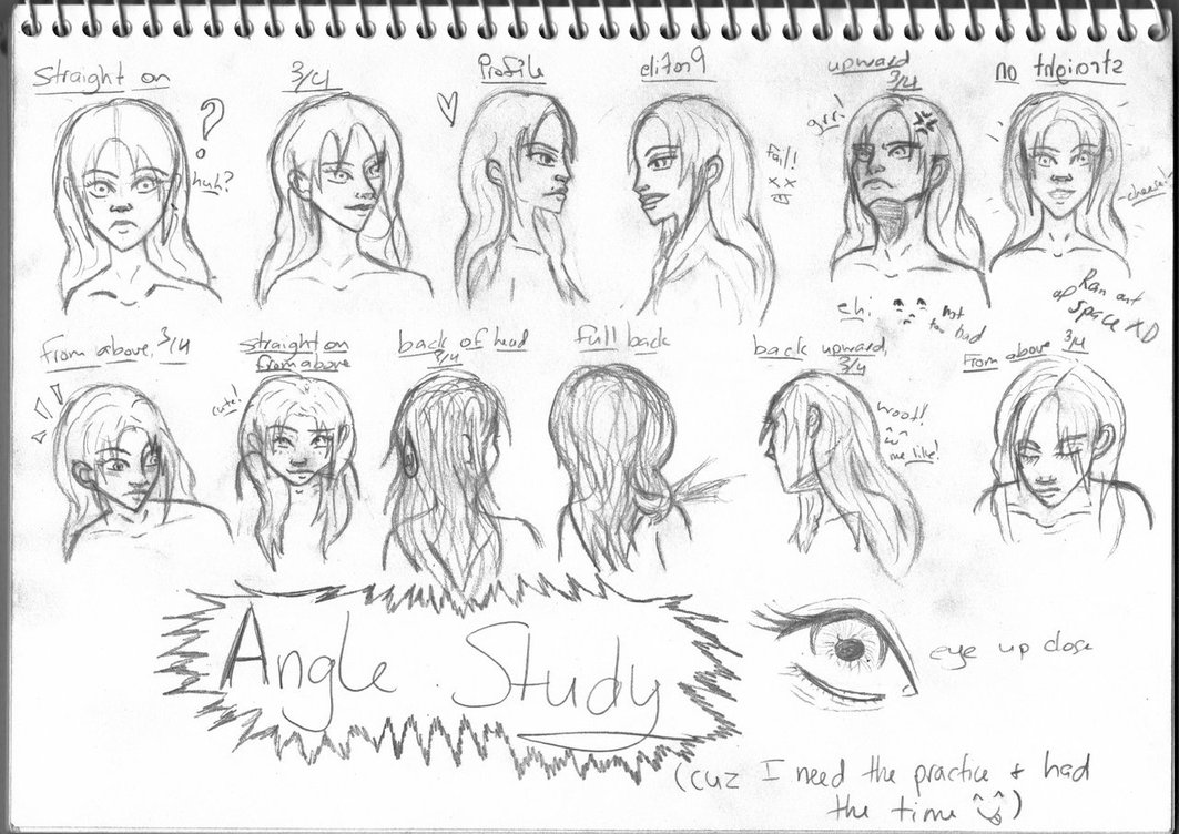 1063x752 Face Angle Study By Psycobabble402