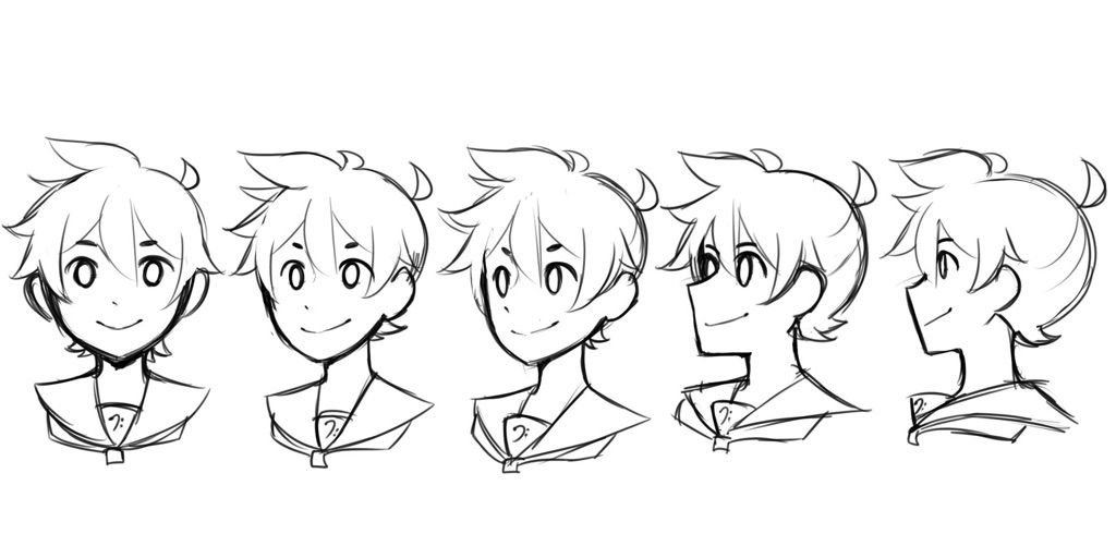 1024x512 How To Draw Len's Hair!! Vocaloid Amino