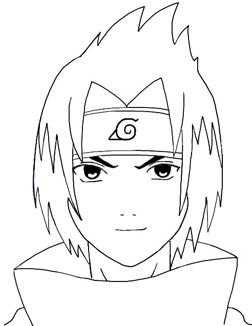 492x637 How To Draw Sasuke Uchiha From Naruto Step By Step Drawing