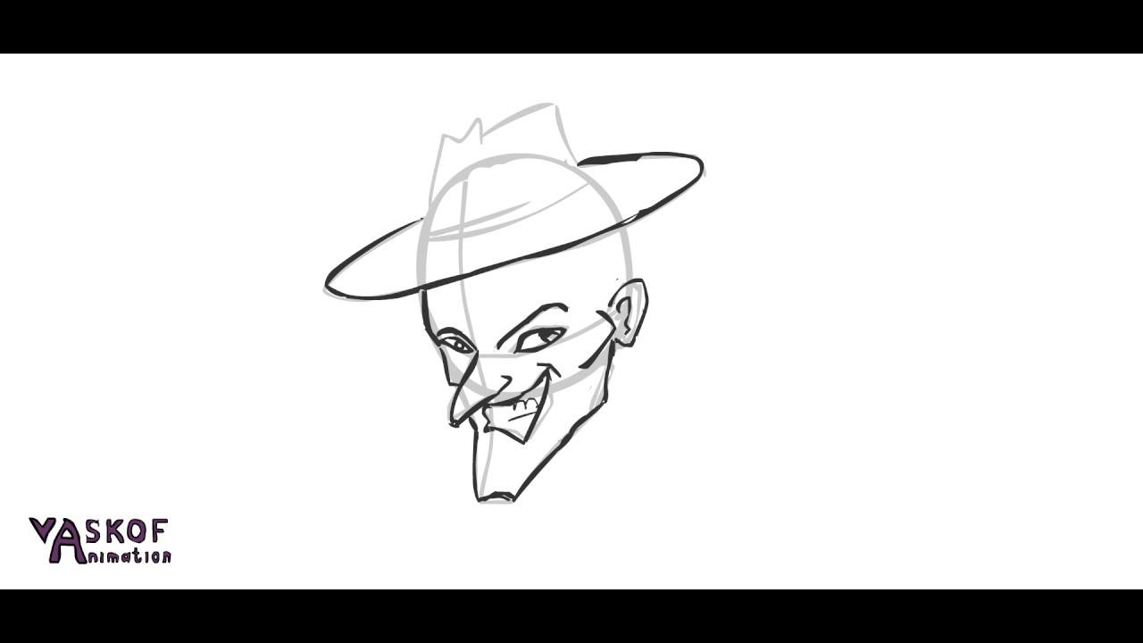 1280x720 How To Draw An Angry Face. Drawing Faces. Facial Construction. My