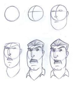 236x275 Sketchbook Head Construction Sketchbook