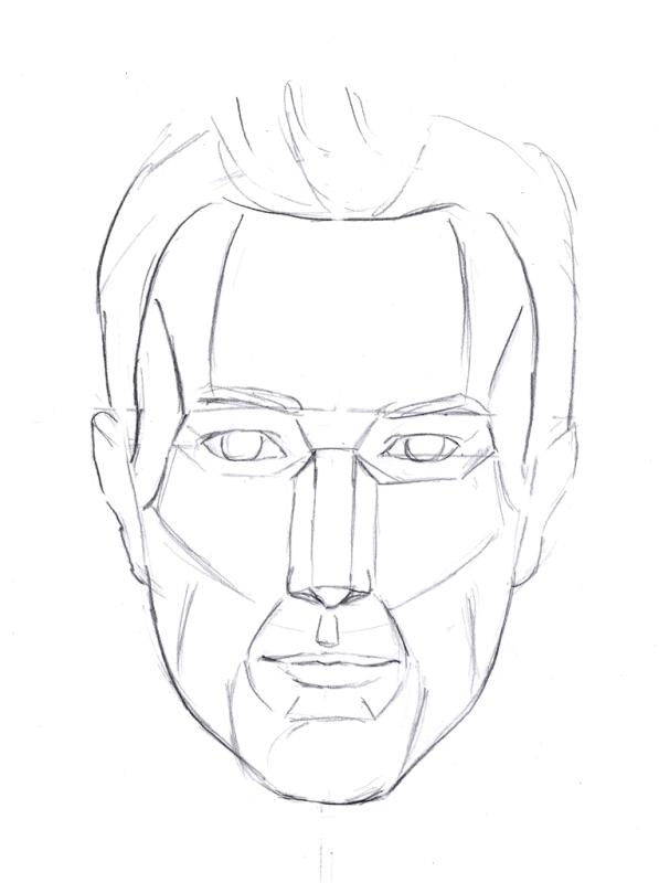597x800 Tips On Drawing A Life Like Head Like Sketch