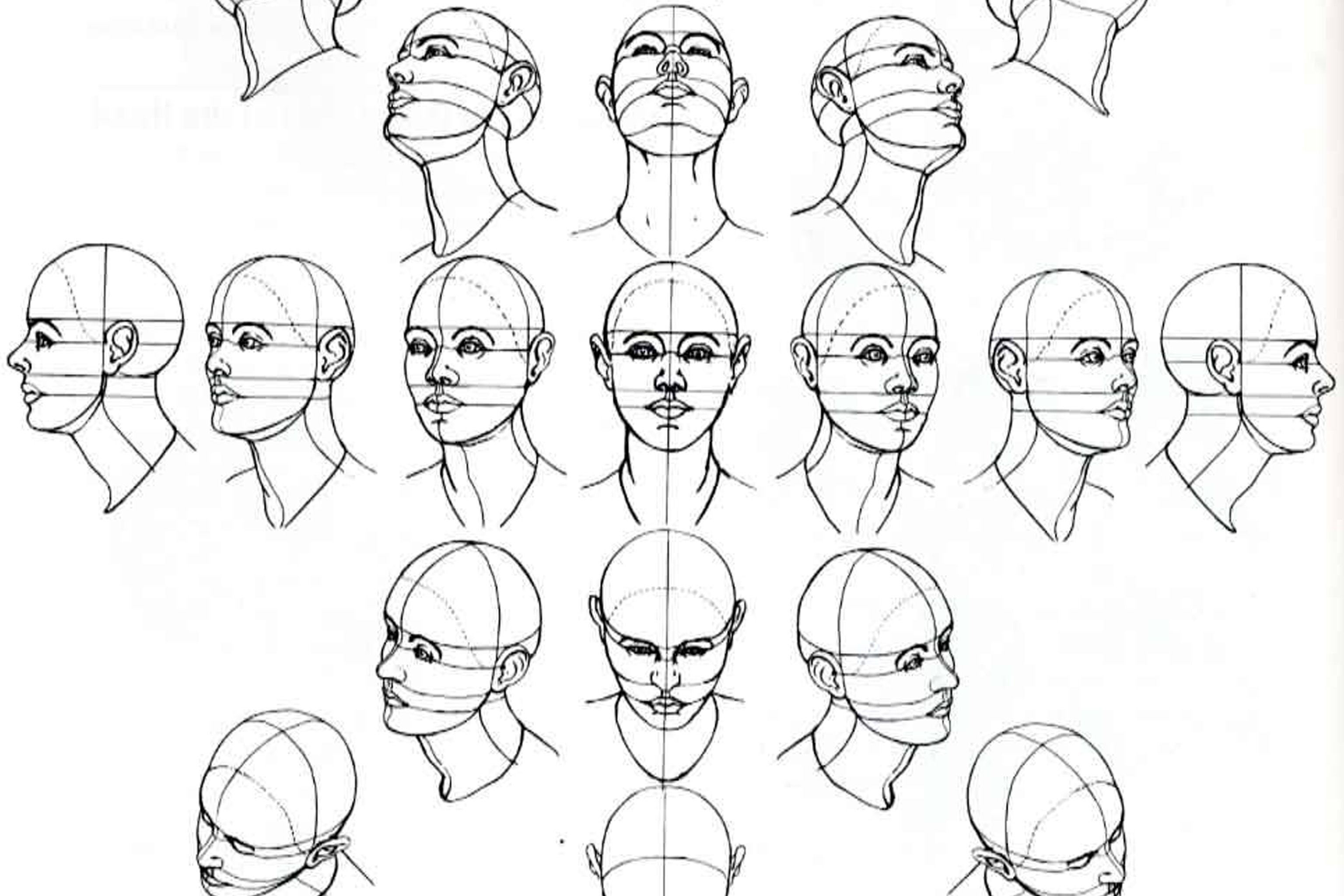 face drawing black and white at getdrawings com free for personal
